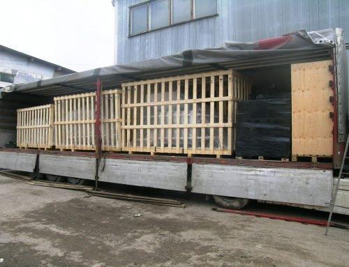 Генеральный груз: перевозка упаковочного оборудования из Италии